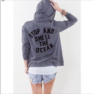 Wildfox Stop & Smell The Ocean Hoodie Sweatshirt